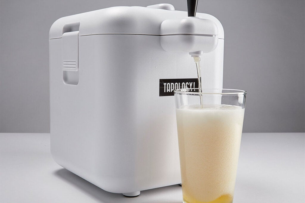 Tapology 6-Pack Cooler Microfoam Beer Tap