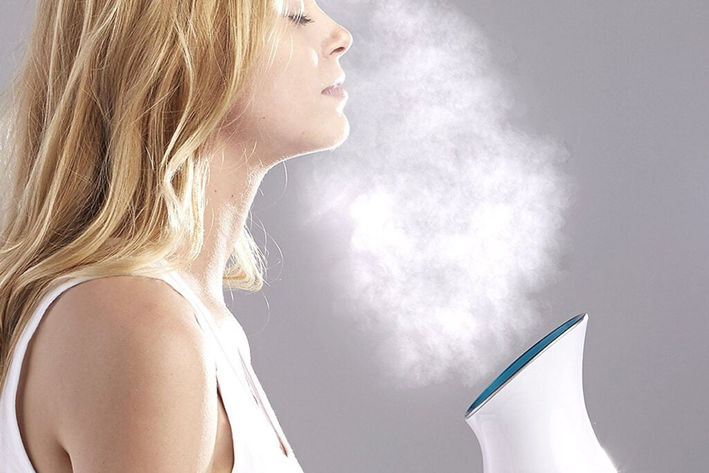 NanoSteamer: 3-in-1 Nano Iconic Facial Steamer