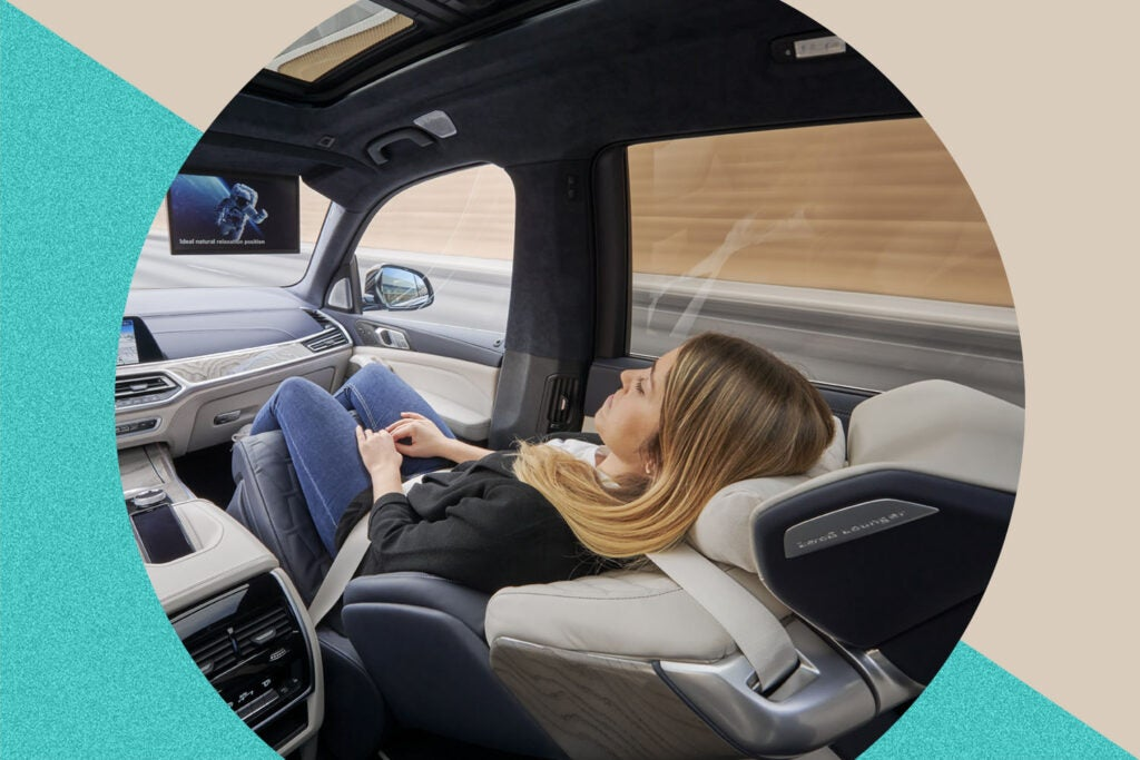 BMW ZeroG Lounger Seat