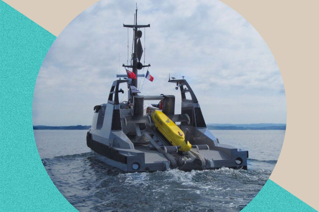 Thales Maritime Mine Counter Measures