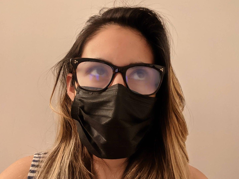 Fogged glasses