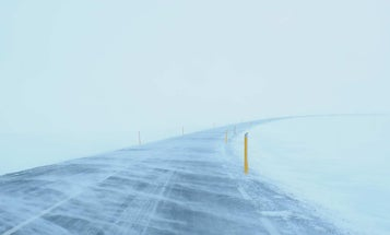 How to survive a snowstorm from inside your truck