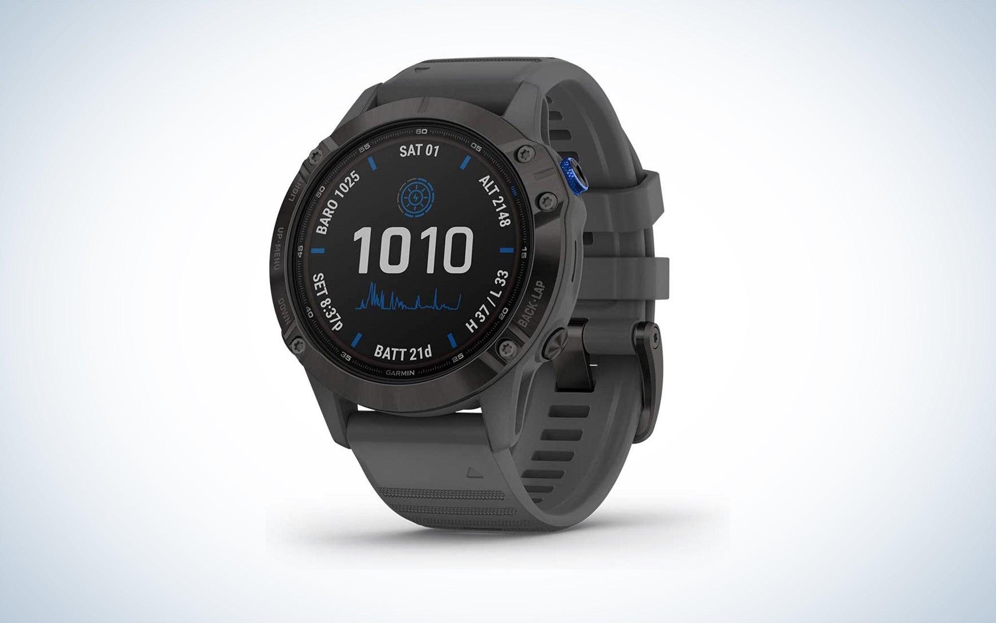 Garmin Fenix 6 Pro Solar is the best garmin smartwatch