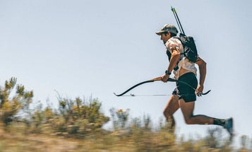 Can a hunter outrun an antelope? This ultra-marathoner is finding out.