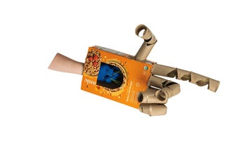 Turn a boring box into a sweet working robotic hand