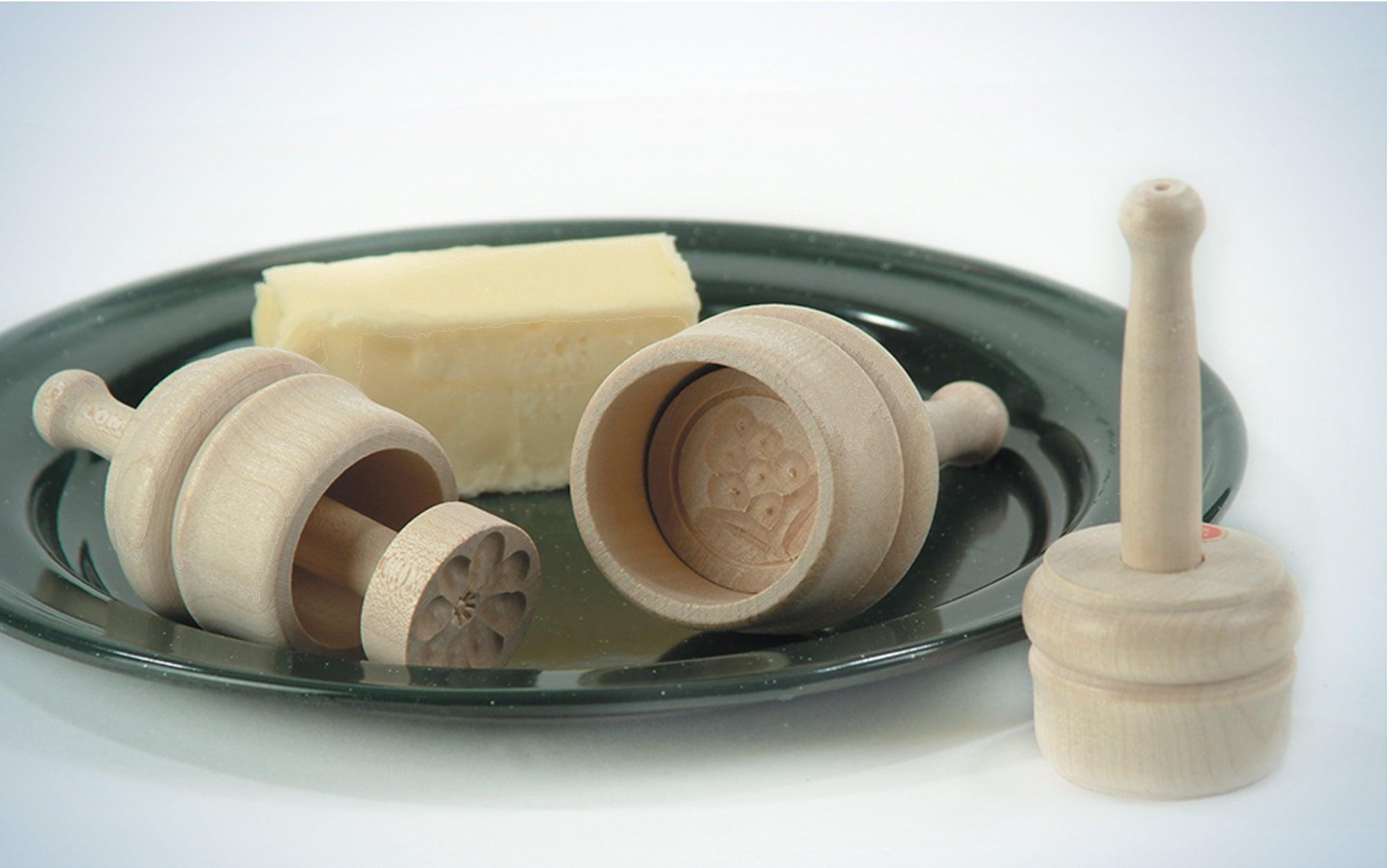 German Carved Butter Molds