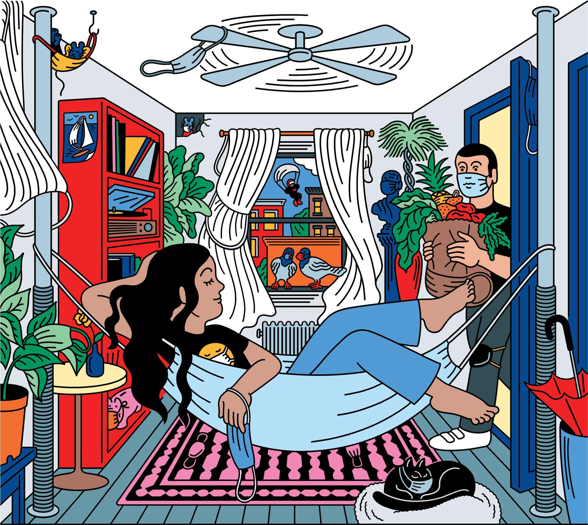 Tomi Um illustration