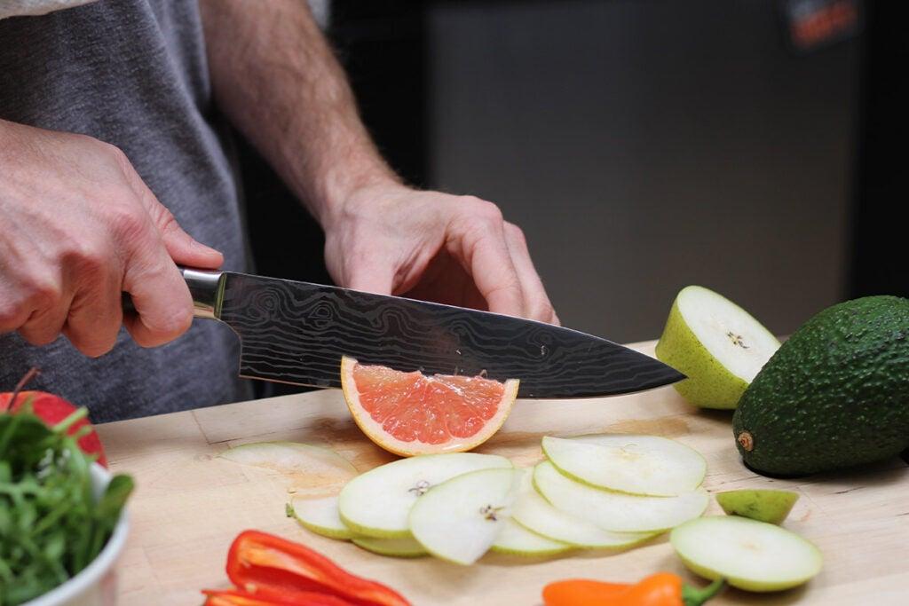 Sukasu Osami Japanese 3-pc Chef's Knife Set
