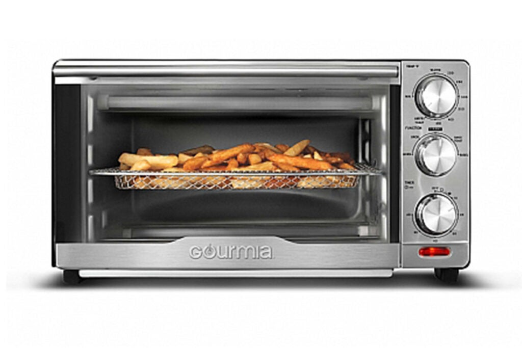 Gourmia GTF7350 6-in-1 Multi-Function Stainless Steel Air Fryer Oven