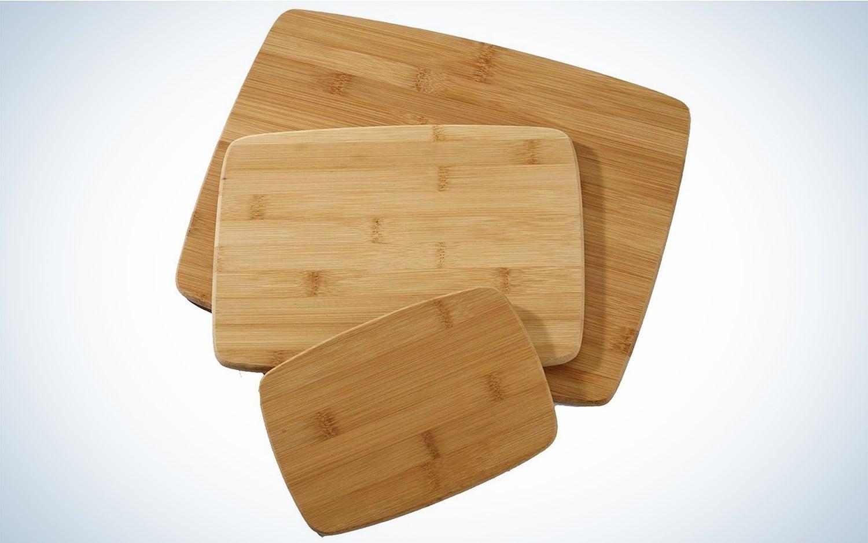 Farberware bamboo cutting boards ($8.99)