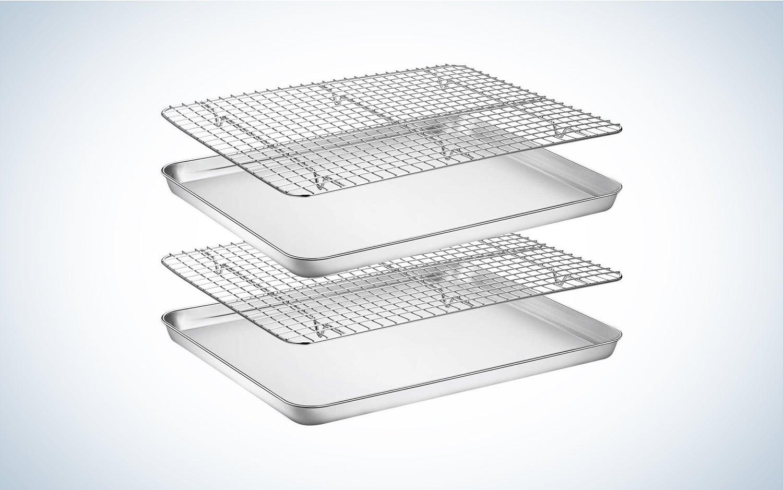 Wildone stainless steel baking sheet ($27.79)