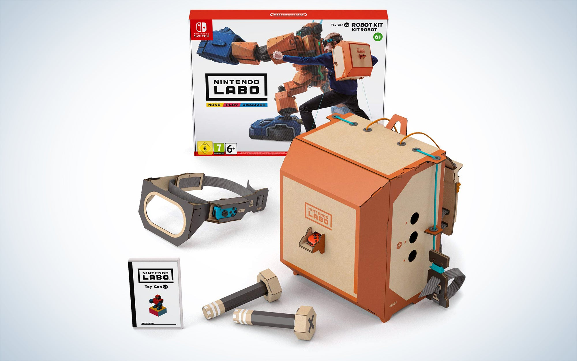 Nintendo Labo Kits are great video games for kids.