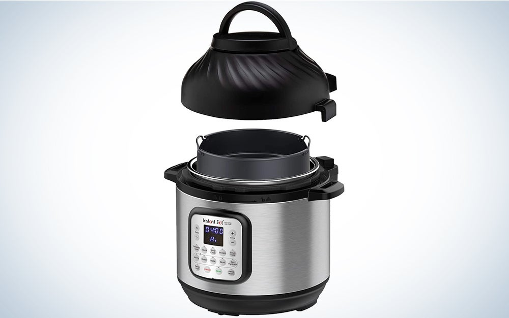 Instant Pot Duo Crisp is one of the best air fryers on the market.