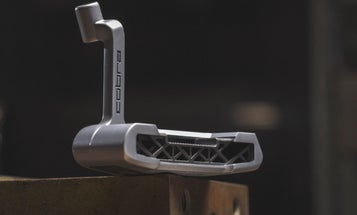 Cobra 3D-printed its limited-edition putter with stainless steel