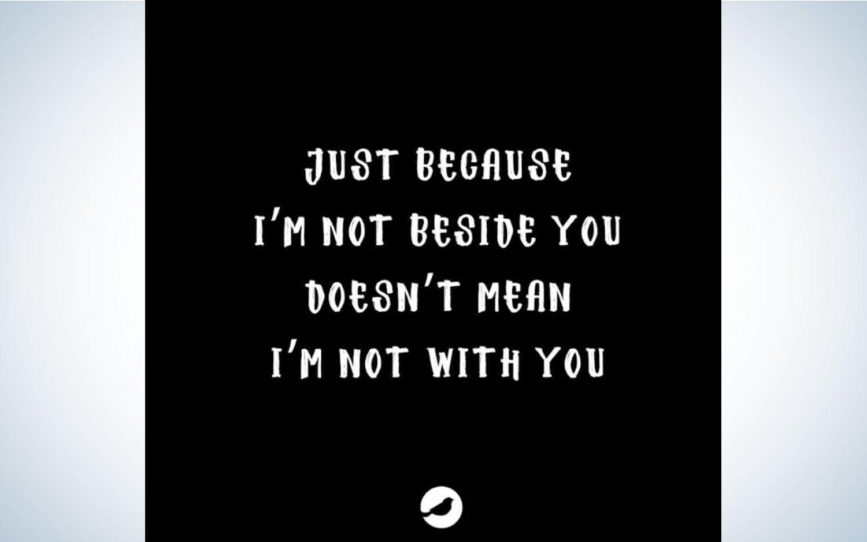 Screenshot of Songfinch lyrics