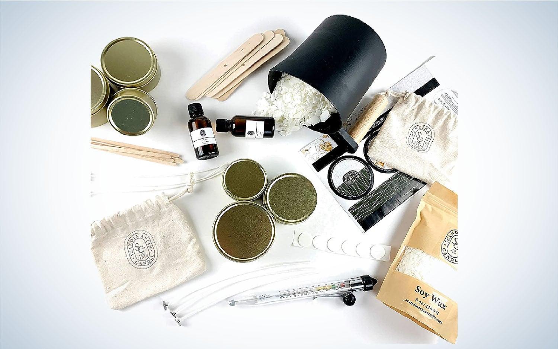 Product image of luxury candle-making kit
