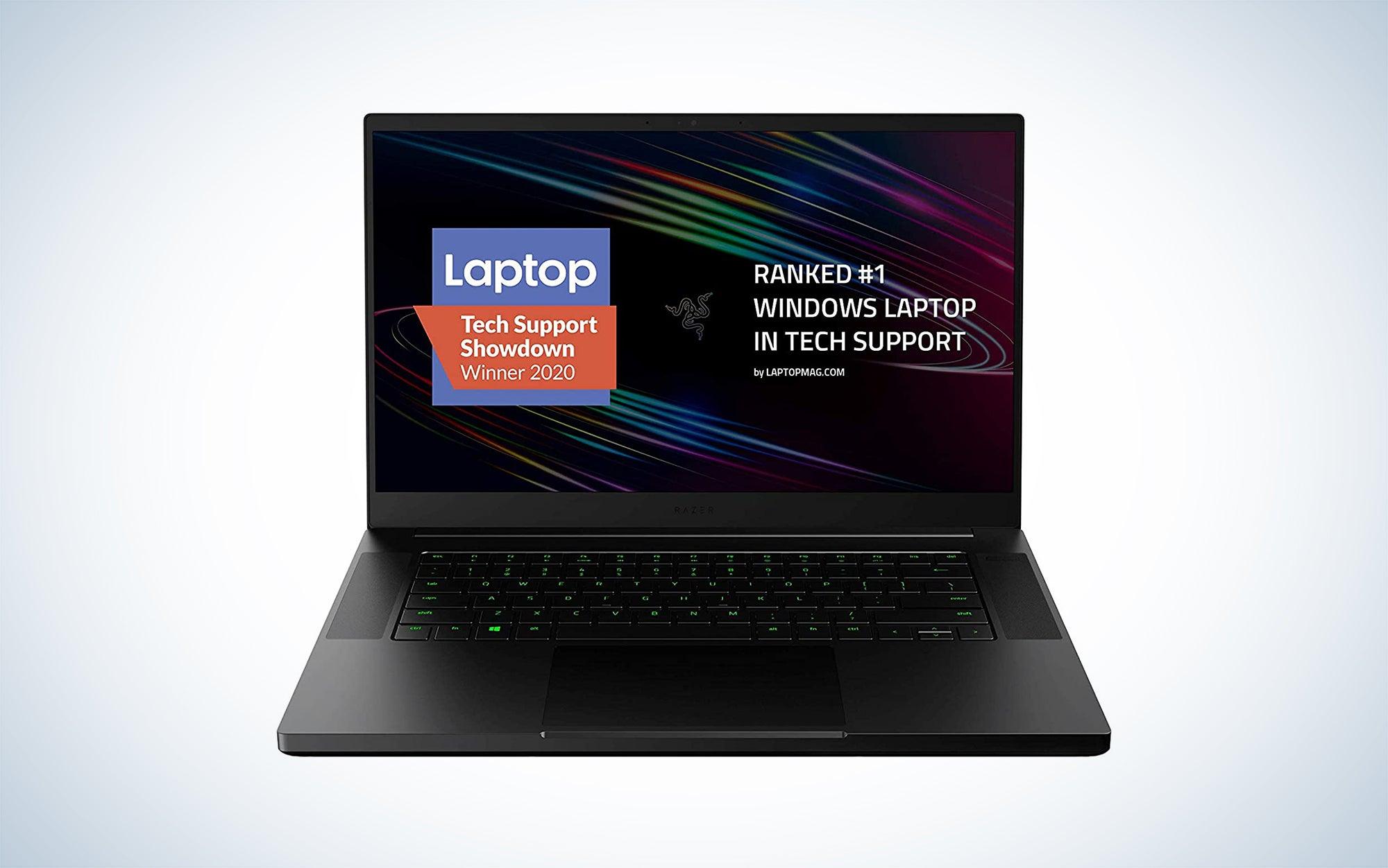 Razer Blade 15 Base Gaming Laptop 2020 is one of the best Razer gaming laptops on the market.