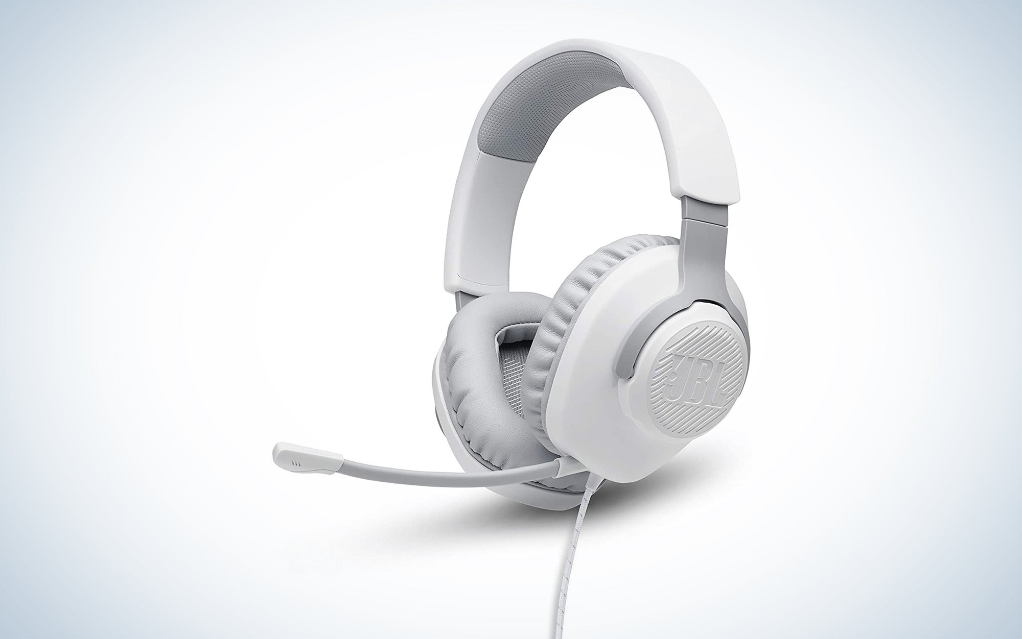 JBL Quantum 100 is one of the best lightweight gaming headsets that you can buy.