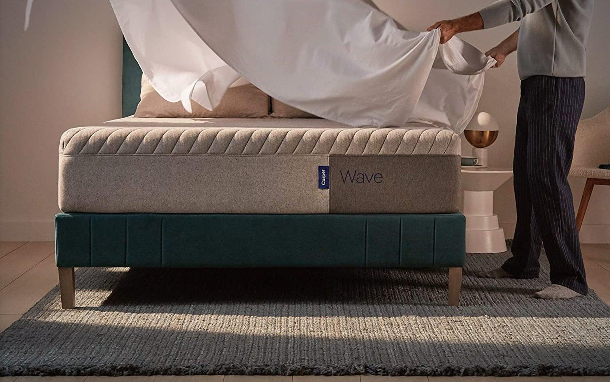 Casper Sleep Wave Foam Mattress is the best mattress for back pain.
