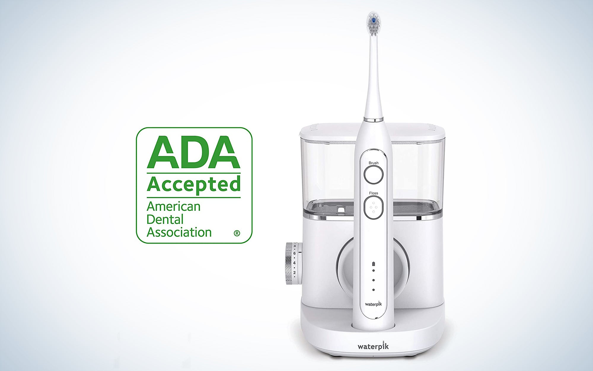 Waterpik Sonic-Fusion Professional Flossing Toothbrush is one of the best electric toothbrushes.