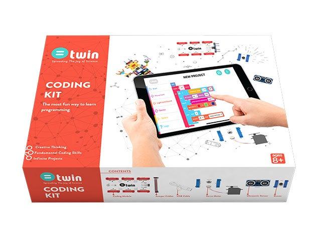 Twin STEM coding kit