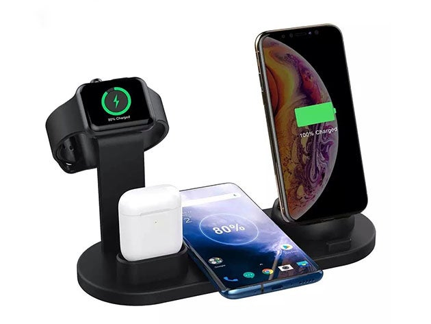 4-in-1 Versatile Wireless Charger