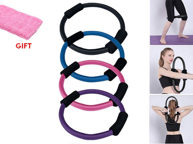 Pilates Ring + Sweatband Set