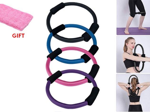 Pilates Ring + Sweatband Set