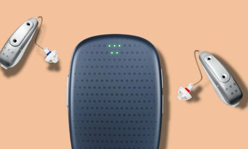 This AI-powered hearing aid improves as you wear it