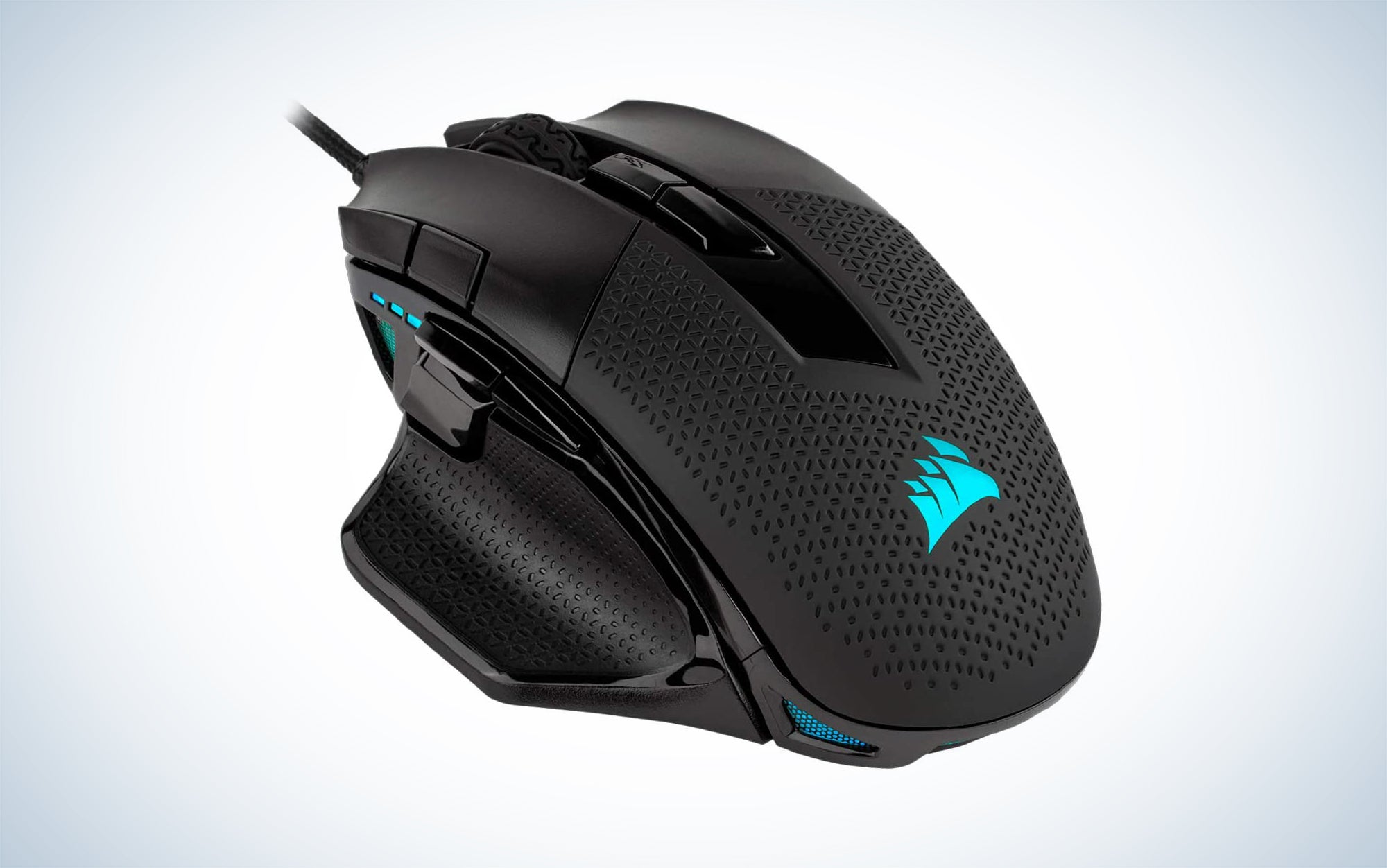 Corsair Nightsword RGB - Comfort Performance Tunable FPS/MOBA Optical Ergonomic Gaming Mouse with Backlit RGB LED, 18000 DPI is one of the best gaming accessories.