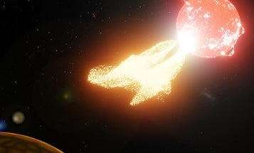 Violent space weather could limit life on nearby exoplanets