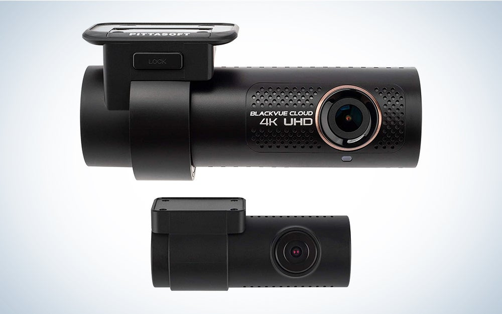 BlackVue DR900X-2CH with 256GB microSD Card   4K UHD Cloud Dashcam   Built-in Wi-Fi, GPS, Parking Mode Voltage Monitor   LTE via Optional CM100 LTE Module is one of the best dash cams on the market.