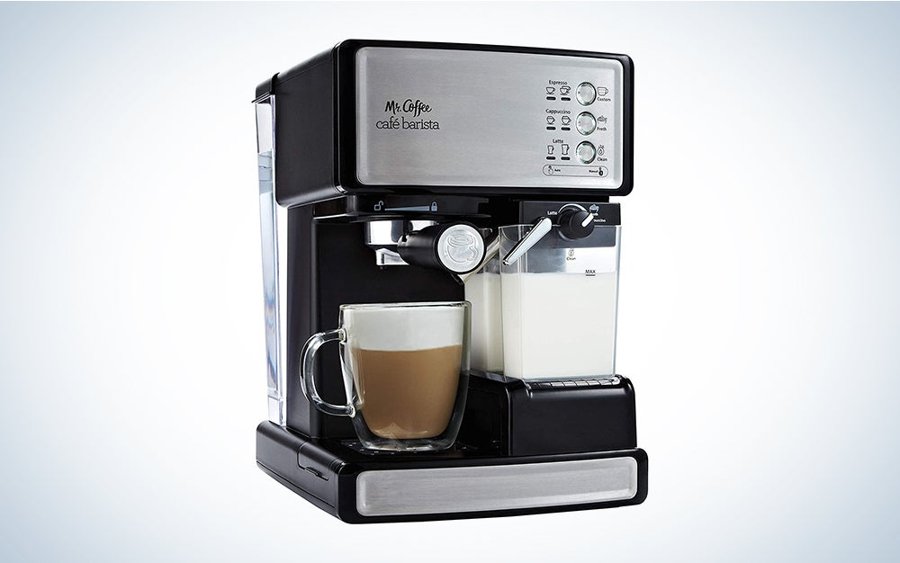 Mr. Coffee Espresso and Cappuccino Maker | Café Barista is one of the best espresso machines on the market.