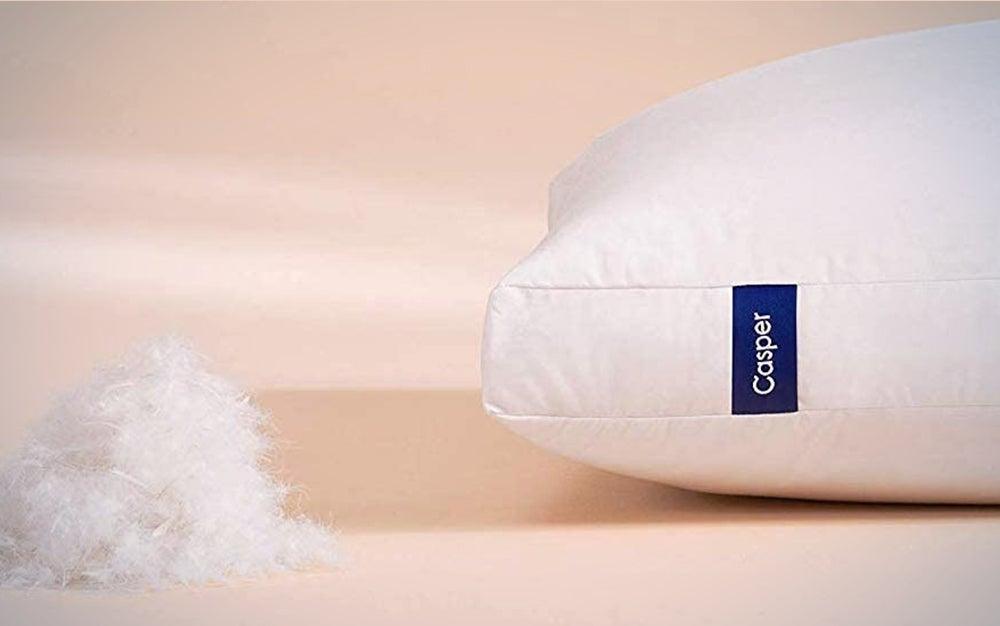 Casper Sleep Down Pillow for Sleeping, Standard is the best pillow for comfort.