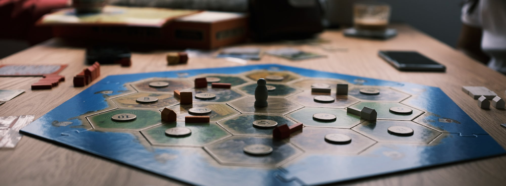 The settlers of catan board game is one of the best board games for adults.