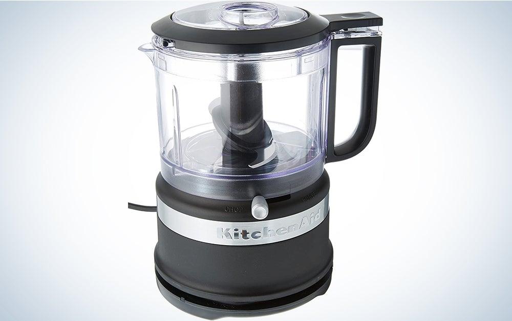 KitchenAid 3.5-Cup Food Chopper is a dishwasher safe food processor.