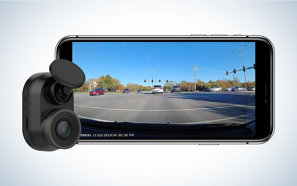 Garmin 010-02062-00 Dash Cam Mini, Car Key-Sized Dash Cam, 140-Degree Wide-Angle Lens, Captures 1080P HD Footage, Very Compact with Automatic Incident Detection and Recording is the best Garmin dash cam on the market.