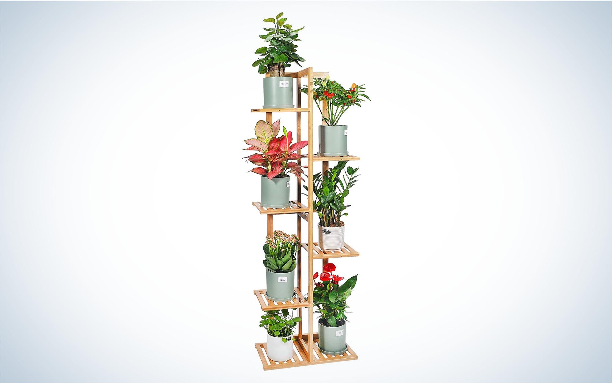 Bamboo Plant Stand Rack