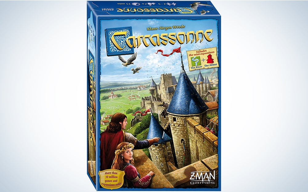 Carcassonne Board Game Standard is one of the best board games on the market.