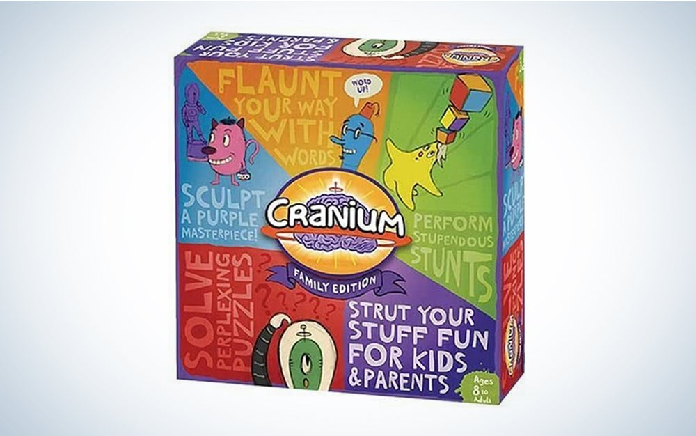 CRANIUM Family Edition is one of the best family board games.