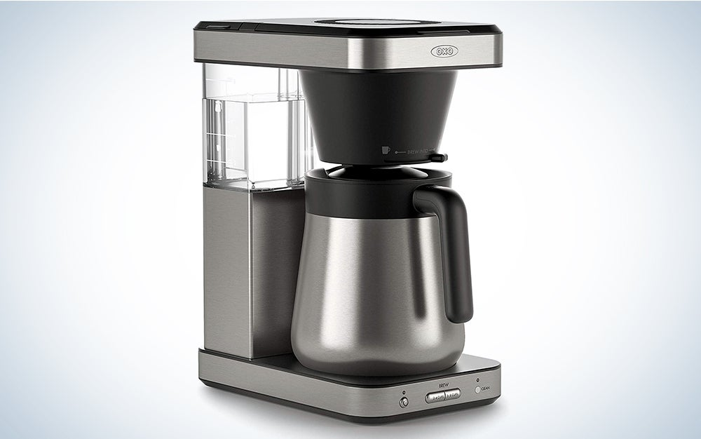 OXO Brew 8 Cup Coffee Maker is one of the best coffee makers.