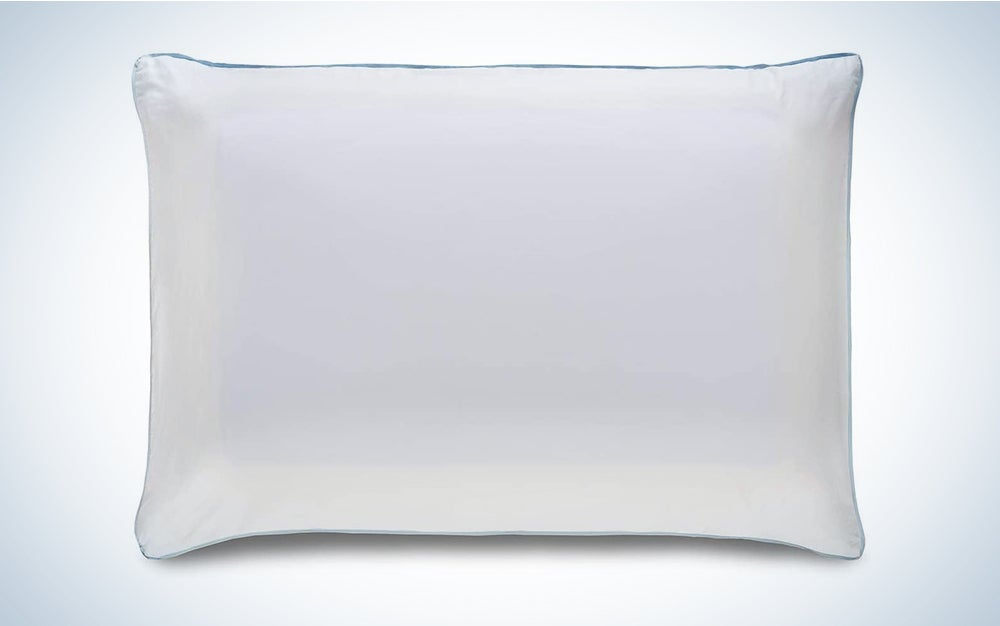 Tempur-Pedic Cloud Breeze Dual Cooling Pillow is the best cooling pillow for hot sleepers.