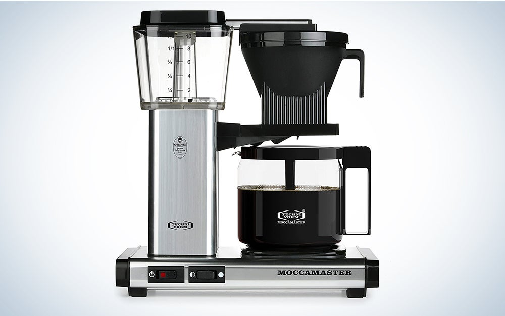 Technivorm Moccamaster 59616 KBG, 10-Cup Coffee Maker is the best drip coffee maker.