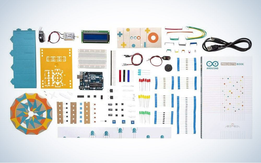 The Official Arduino Starter Kit is our pick for the best overall Arduino starter kit.
