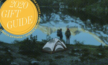 Go camping in style and comfort with these gifts
