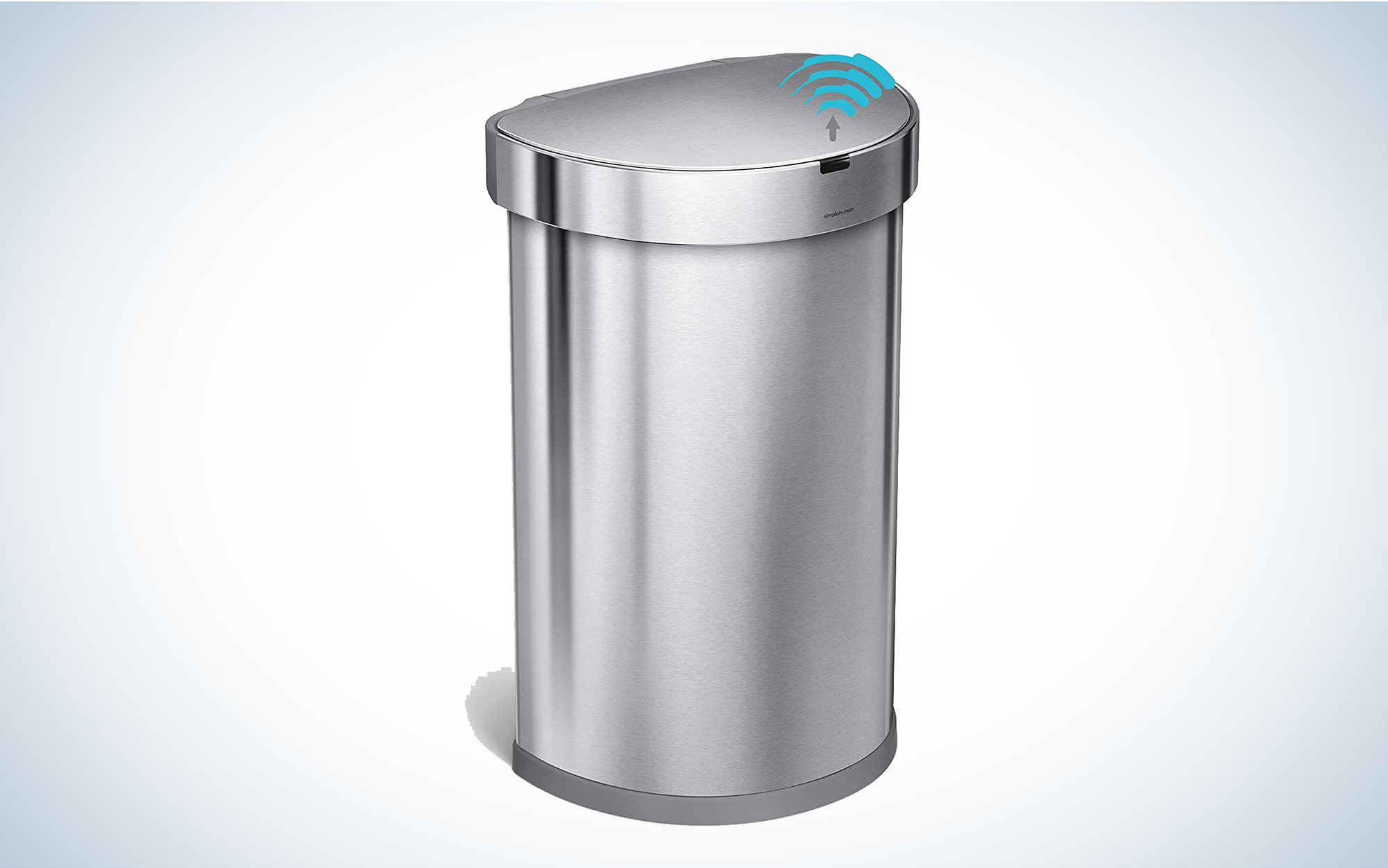 simplehuman motion-activated trash can