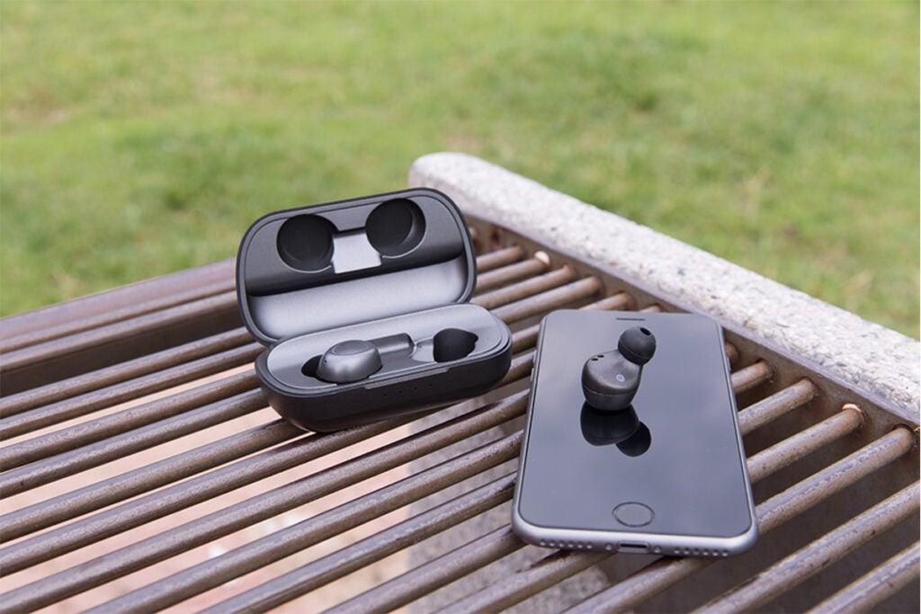 Brio SkyBorn S7 True Wireless Earbuds + Charging Case