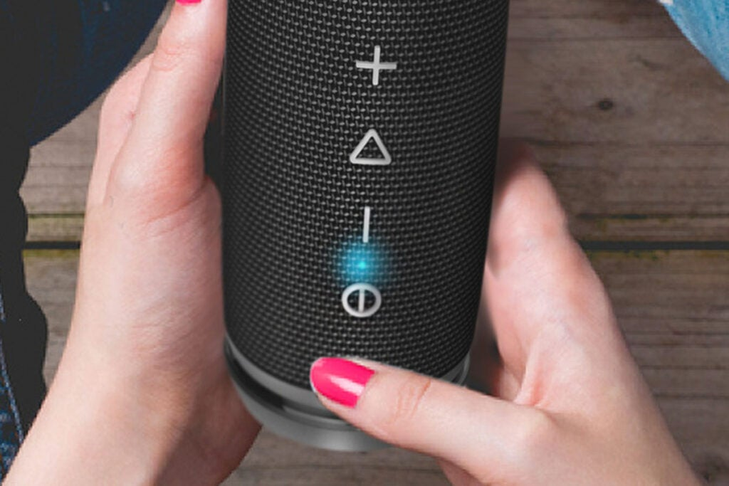 TREBLAB HD7: Compact 360° HD Bluetooth Speaker