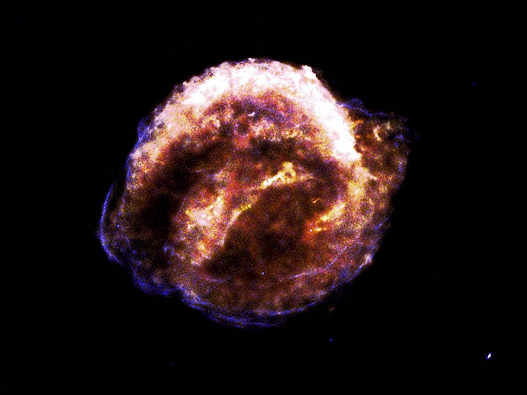 The Kepler supernova was spotted in 1604. Four centuries later, material from the explosion is still expanding outward at more than 20 million miles per hour.