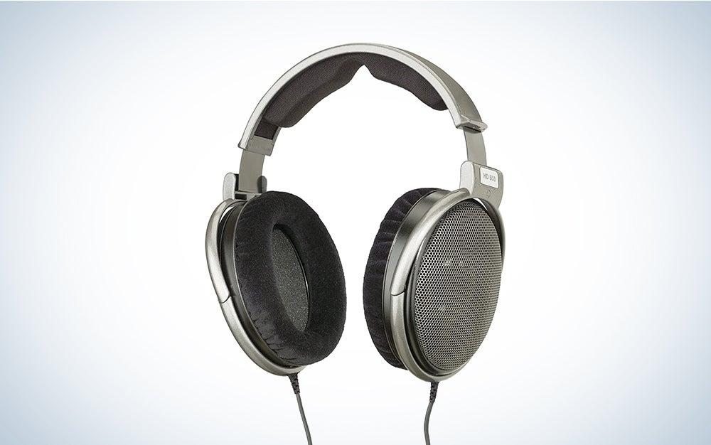 Sennheiser HD 650 Open Back Professional Headphone audio equipment.